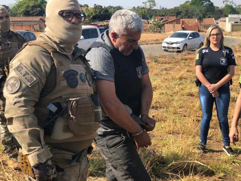 Suspeito foi detido pela Polícia Civil (Foto: Polícia Civil )
