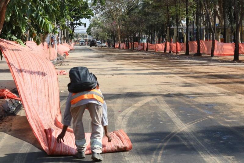 Trecho entre Independência e Rua 55 será liberado nesta terça-feira (24) (Foto: Diomício Gomes)